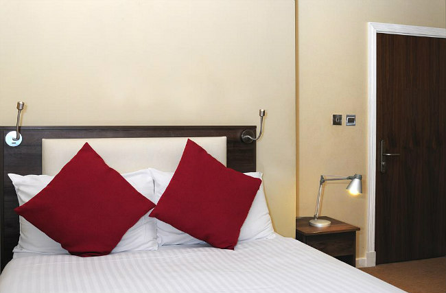 A typical double room at Knaresborough Boutique Apartments