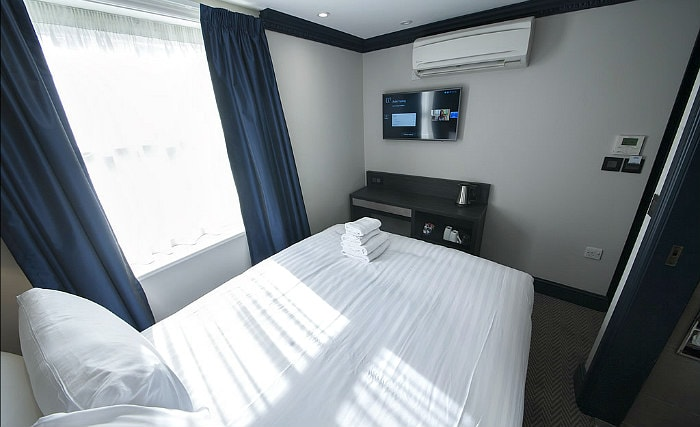 A double room at House of Toby Hotel