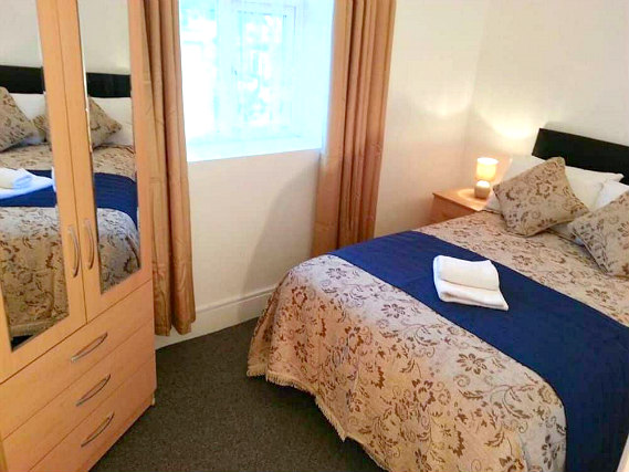 Double room at Metro House London