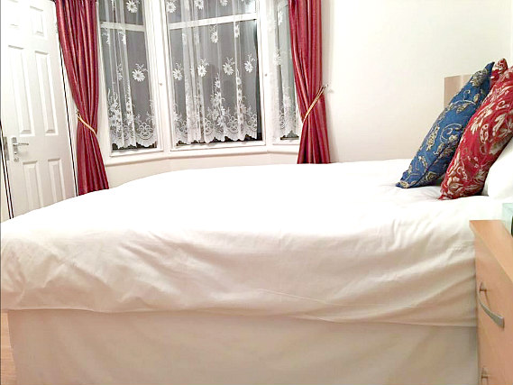 A double room at Metro London City Airport