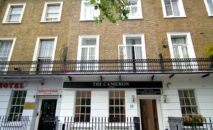 Cameron Hotel London is situated in a prime location in Paddington