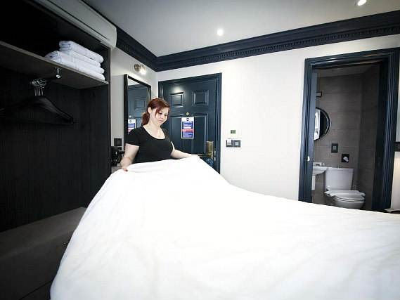 Double room at The Duke Rooms London