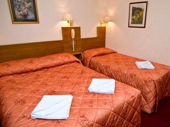 Triple rooms at Alexandra Hotel are the ideal choice for groups of friends or families