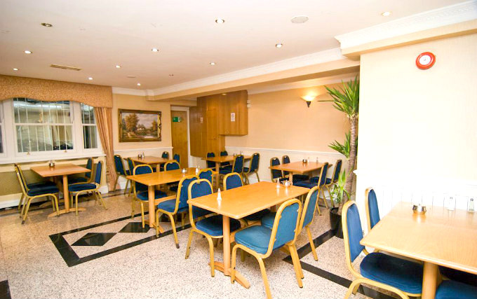 Enjoy a great breakfast at Alexandra Hotel