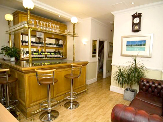 After a busy day, relax with a drink in the bar at Gresham Hotel