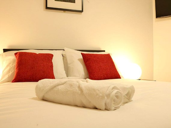 A double room at Bank Hotel London