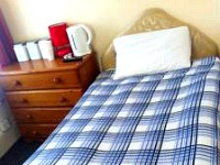 A typcial single room at Stratford Hotel London
