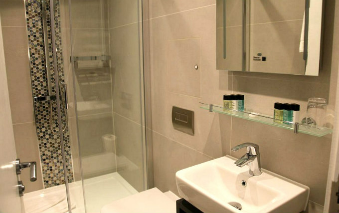 Luxury bathroom at K Hotel Kensington