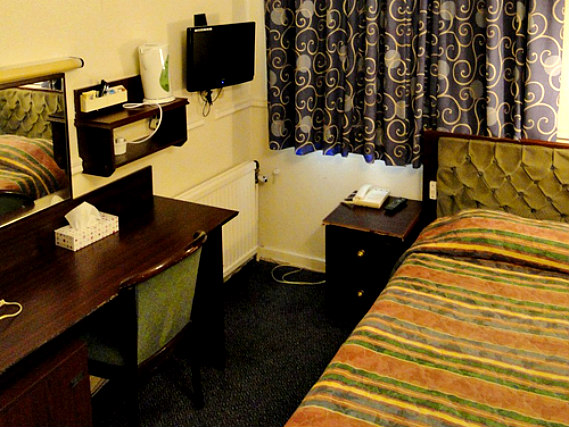Single rooms at Hallam Hotel London provide privacy