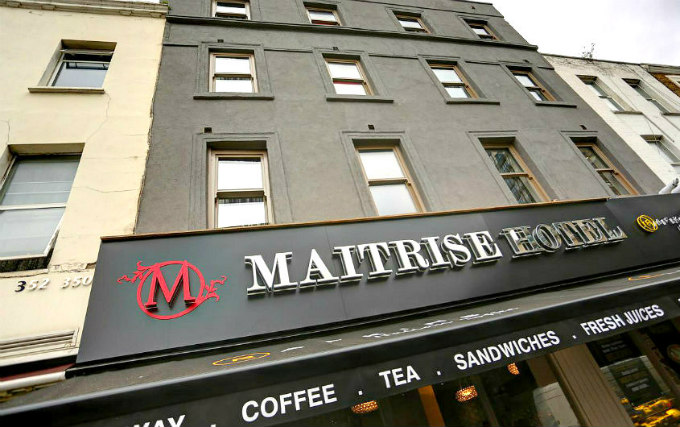 An exterior view of Maitrise Hotel London Edgware Road