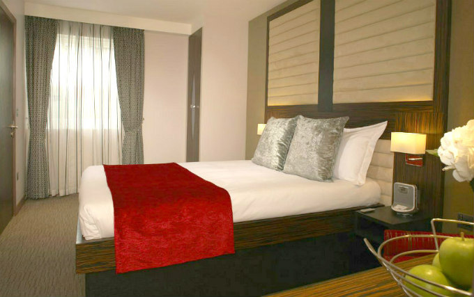 A typical double room at Maitrise Hotel London Maida Vale