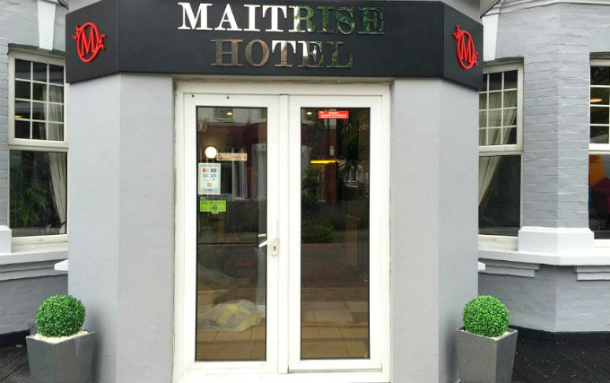The exterior of Maitrise Hotel London Wembley