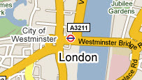 Map of Central London Hotel Deals