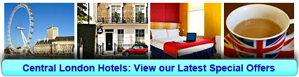 Book your Central London Hotel