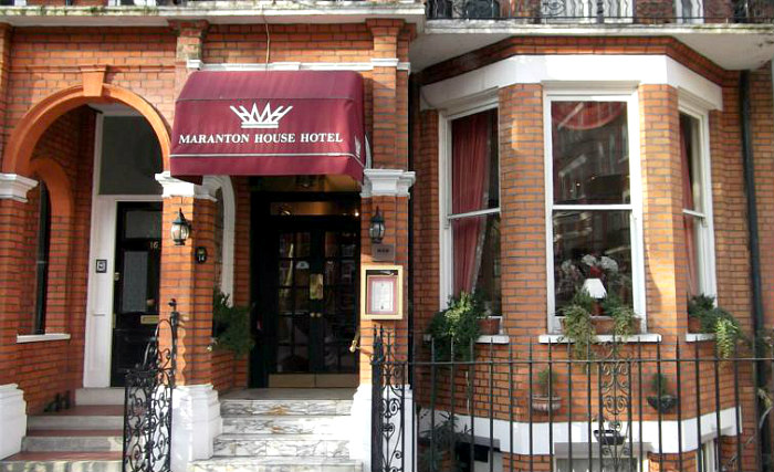 Maranton House Hotel is situated in a prime location in Earls Court close to Melbury Road