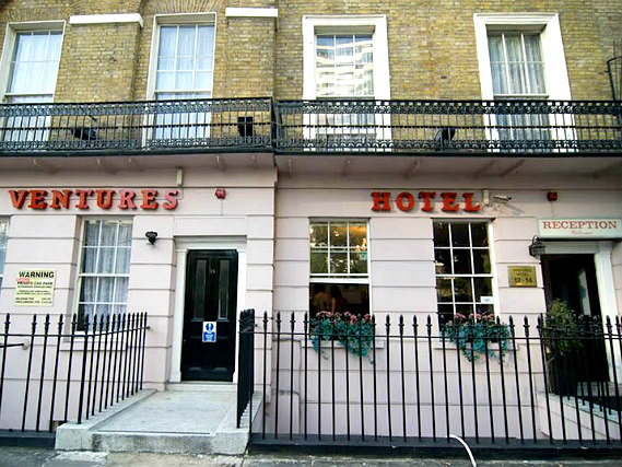 Ventures Hotel is situated in a prime location in Paddington close to Edgware Road