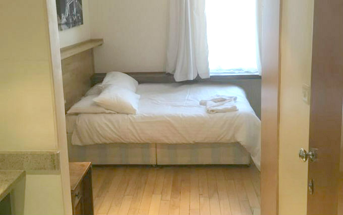 A comfortable double room at Boka Hotel London