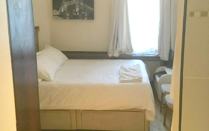A double room at Boka Hotel London
