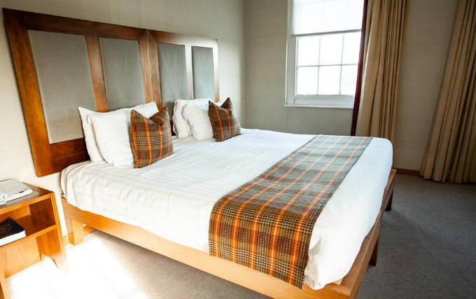 A double room at Berwick Manor Hotel