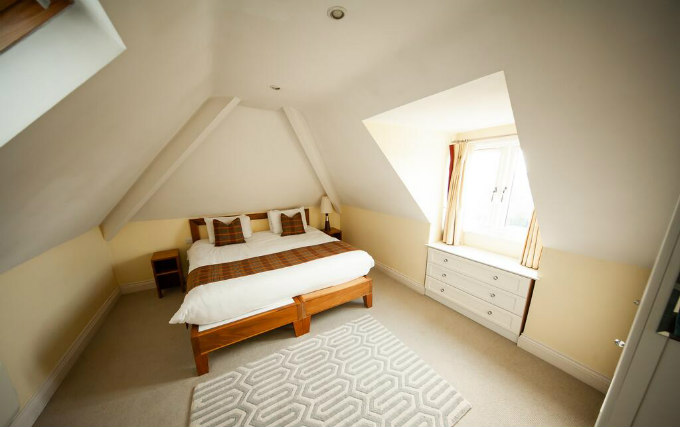A comfortable single room at Berwick Manor Hotel