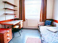 A typical room at King's Hall Quality Budget Rooms