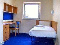 A typical single room at Manna Ash Rooms
