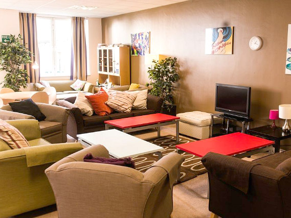 Relax in the communal lounge
