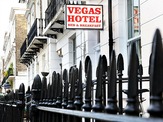 Vegas Hotel London is situated in a prime location in Victoria close to Eccleston Square