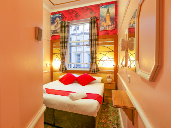 A double room at Vegas Hotel London is perfect for a couple