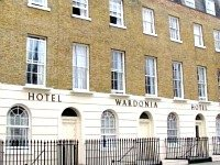 The exterior of Wardonia Hotel