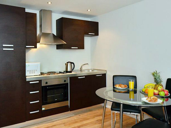 Make meals, snacks or drinks in your kitchen at So London Apartments
