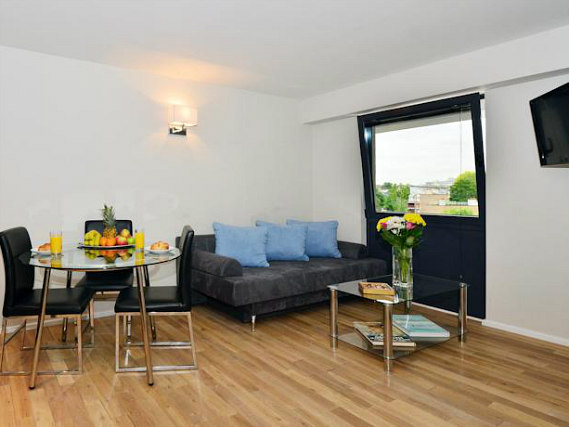 Rooms are simple but clean at So Quartier Maida Vale