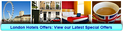 Click here to view our London Hotel Offers now!