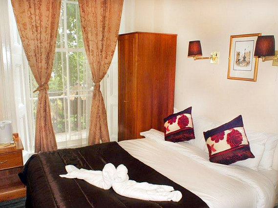 A double room at The Warwick Hotel London is perfect for a couple