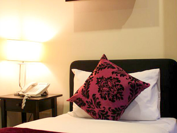 Single Room at Hyde Park Hotel London