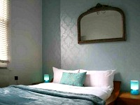One of the Double rooms at So London Luxury Apartments