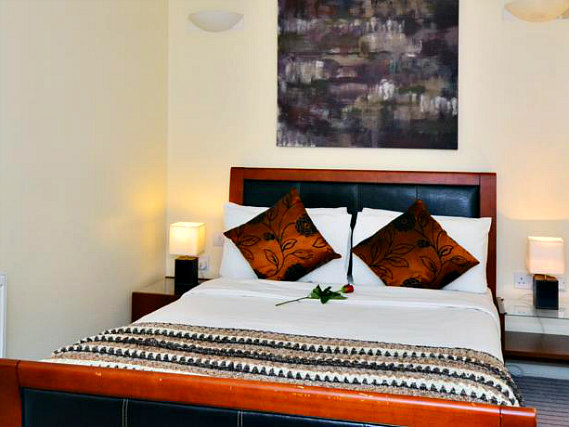 Get a good night's sleep in your comfortable room at So London Luxury Apartments