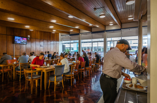 Start your day in the Carr-Saunders Hall Breakfast Room
