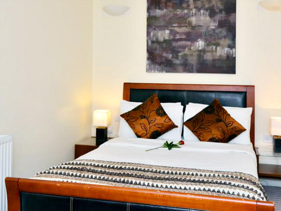 A double room at So Sienna Hammersmith is perfect for a couple
