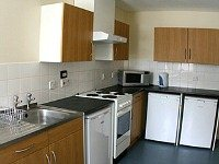 Kitchen at Dinwiddy House Budget Rooms