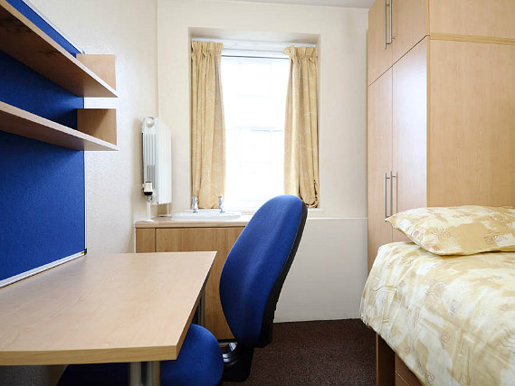 Single rooms at Goldsmiths House provide privacy