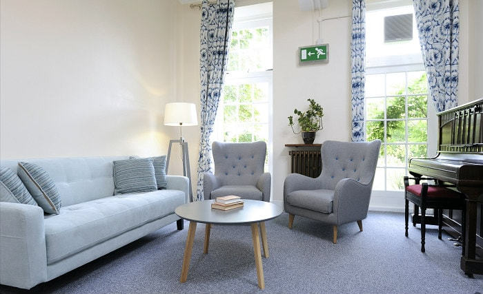 Relax in the lounge at Goldsmiths House