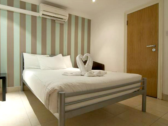 Get a good night's sleep at 146 Suites Gloucester Place