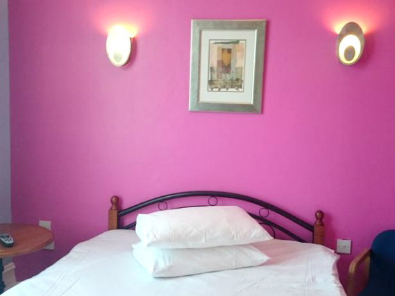 A double room at City View Hotel Stratford is perfect for a couple