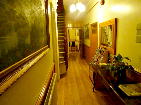 Common areas at Heatherbank Guesthouse