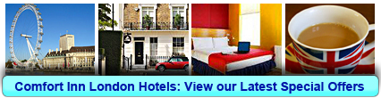 Click here to book a Comfort Inn London hotel now!