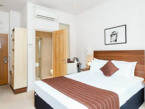 Get a good night's sleep in your comfortable room at Avni Kensington Hotel