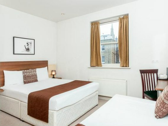 Triple rooms at Avni Kensington Hotel are the ideal choice for groups of friends or families