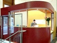 You'll receive a warm welcome at the Reception desk where staff will be happy to offer any help they can