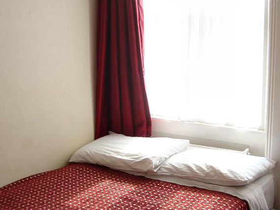 A double room at Euro Hotel Hammersmith is perfect for a couple